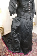 12 antique Pingat bustle dress 1880