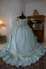 34 antique victorian ball gown 1859
