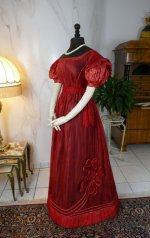 25 antique gauze dress 1828