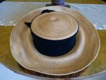 10 antique hat 1912 Cameron Titanic