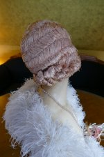 21 antique hair cloche 1920