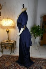 8 antique hobble skirt Dress 1913