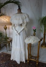 2 antique summer dress 1901