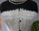 5 antique wedding corset 1880