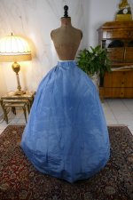 219 antique ball gown 1864