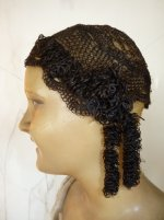 wig 1930, wig 1840, antique wig, regency wig, empire wig, Biedermeier Wig, antique wig with curls, antique curls, curls 1830