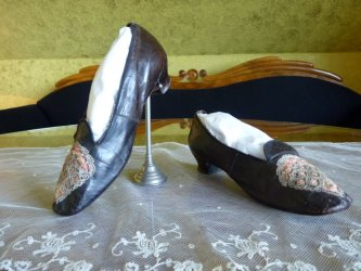 antique shoes 1860