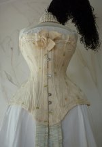 5 antique corset