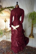 15 antique wedding gown 1878