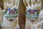 2 antique gloves 1834