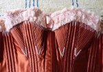 36 antique maternity corset 1885