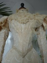 4 antique wedding gown 1895