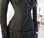 14 antique mourning dress 1879