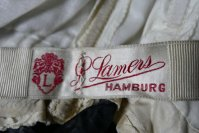 1 antique dinner dress Hamburg 1906