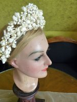 13 antique wax tiara 1912