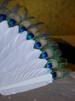 7 antique feather fan 1915