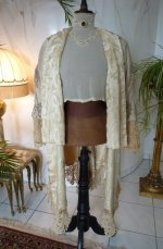 100 antique silk coat 1906