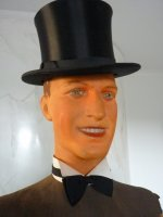 25 antique male mannequin