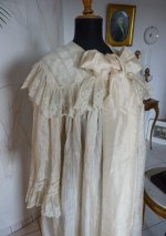 4 antique Peignoir 1895