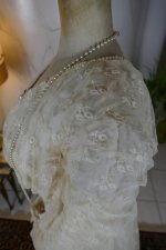 11 antique wedding dress Barcelona 1908