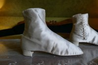 4 antique wedding Boots 1860