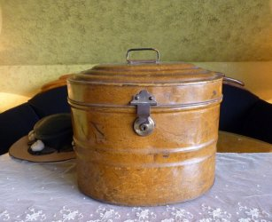 antique hat box 1895