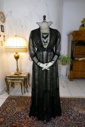 antique evening dress 1915