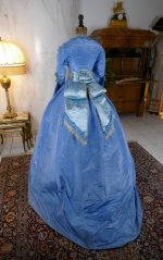14 antique ball gown 1864