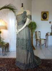 antique dress 1908