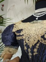 antique dress 1895 13