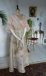 16 antique dress 1909
