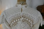 27 antique irish crochet dress 1904