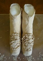 2 antique wedding shoes 1830