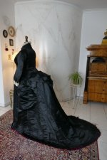16 antique Pingat bustle dress 1880