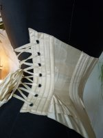 26 antique wedding corset 1885