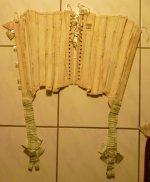 34 antique corset