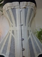 11 antique summer corset 1890