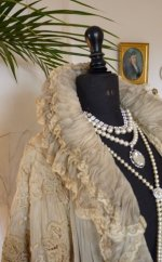 11 antique opera coat