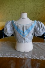 8 antique bodice 1850