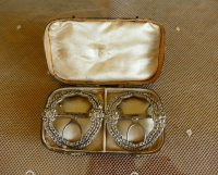 1 antique shoe buckles 1770