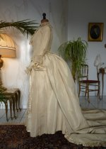 15 antique wedding gown 1877