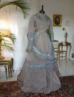 9 antique dress 1877