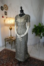 5 antique evening gown 1912
