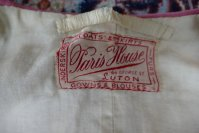 1 antique PARIS HOUSE Coat 1912