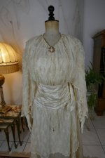 21 antique wedding dress Barcelona 1908