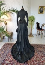 33 antique mourning dress 1879