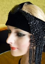 8 antique flapper headpice 1920