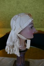 10 antique wedding bonnet 1870