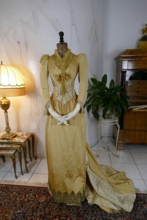 antique dress 1895