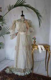 antique dress 1900 HB